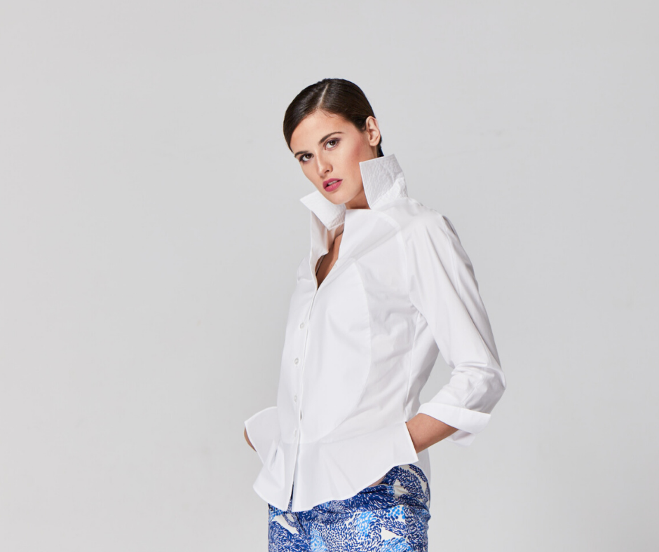 Chemise blanche Margareth&Moi