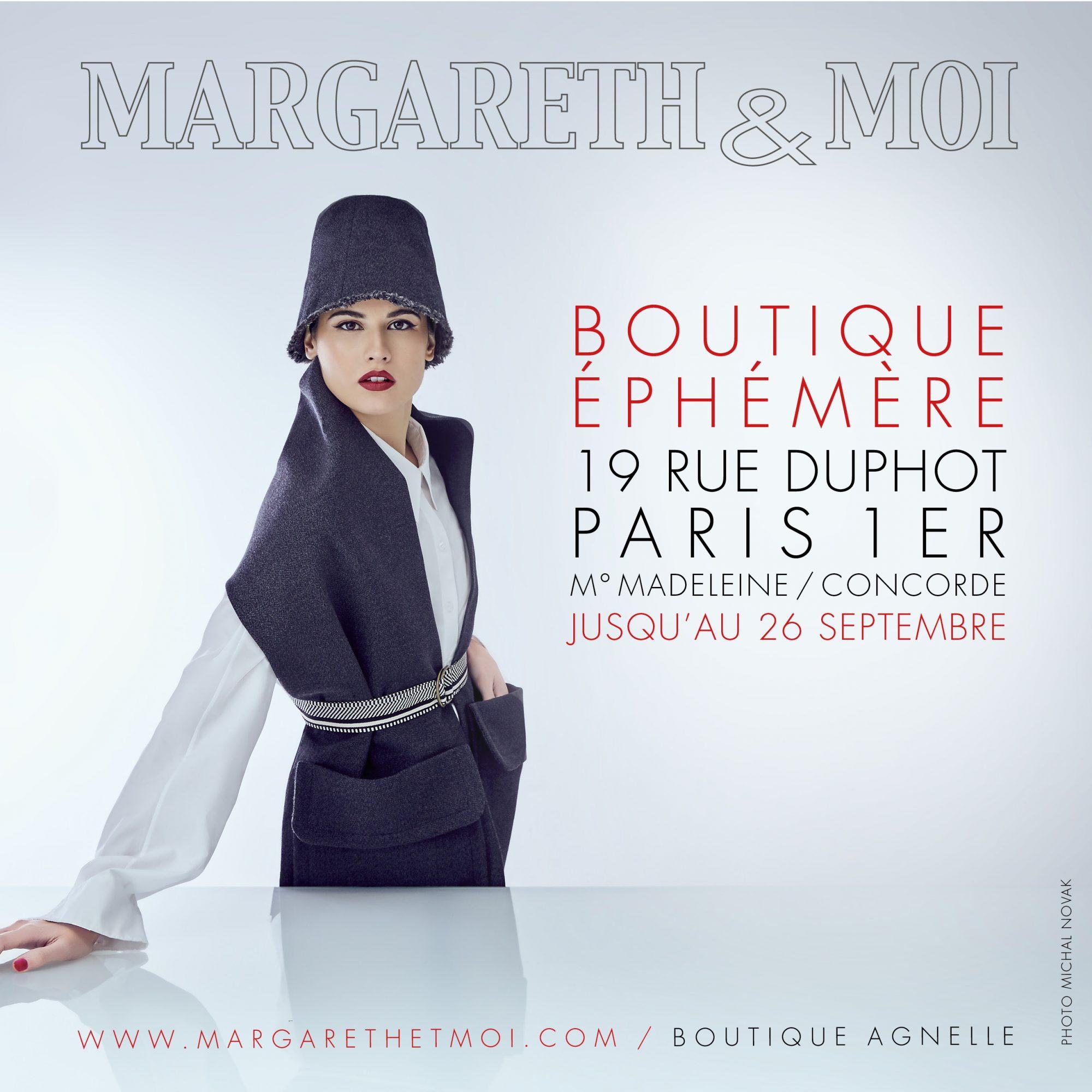 Pop Up store Margareth&Moi Paris 1er Boutique Agnelle