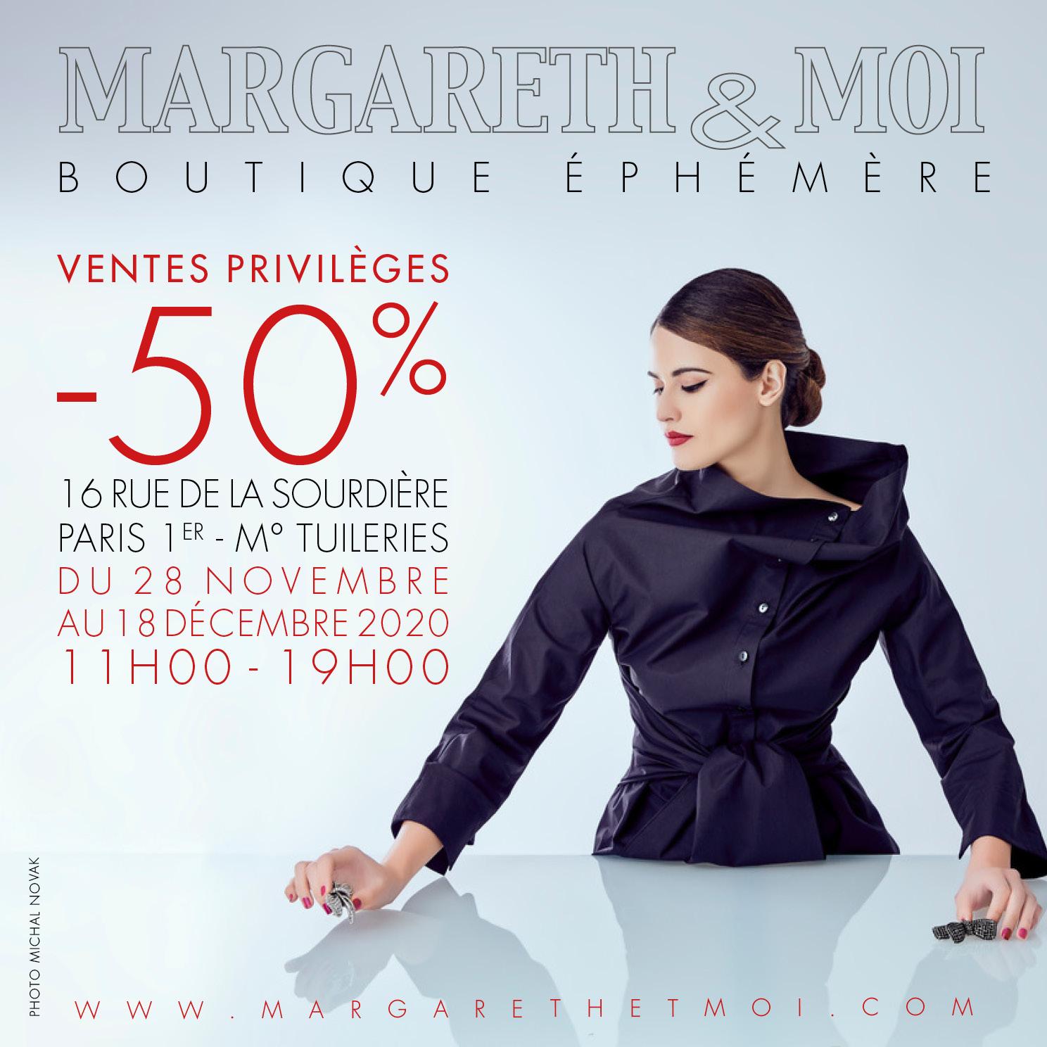 Margareth&moi boutique éphémère